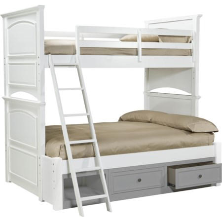 Complete Twin over Full Bunk Bed