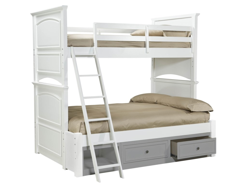 Legacy Classic Kids MadisonComplete Twin over Full Bunk Bed