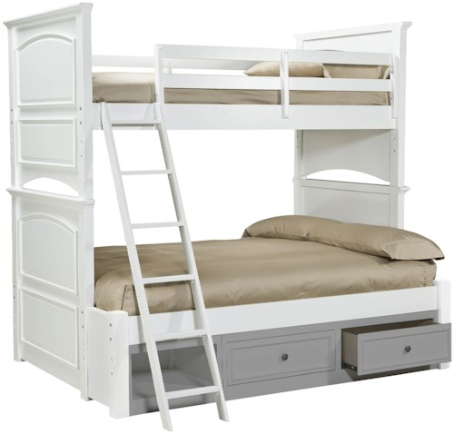 Legacy Classic Kids Madison Classic Twin-over-Full Size Bunk Bed