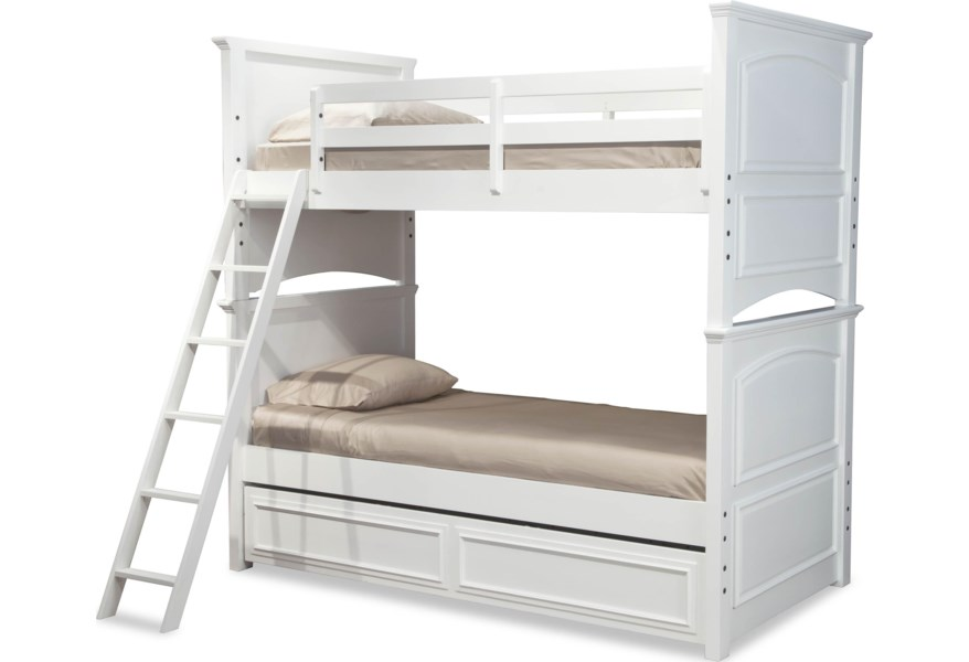 Madison Clic Twin Over Size Bunk Bed With Trundle Drawer By Legacy Kids At Dunk Bright Furniture