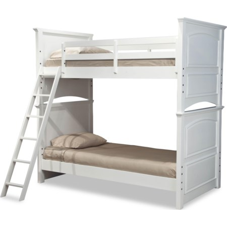 Complete Twin over Twin Bunk Bed