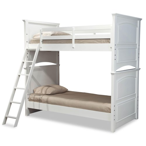 Legacy Classic Kids Madison Classic Twin Over Twin Size Bunk Bed Belfort Furniture Bunk Bed