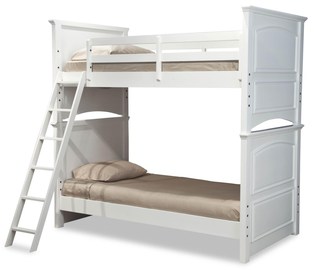 Legacy Classic Kids Madison Classic Twin Over Twin Size Bunk Bed