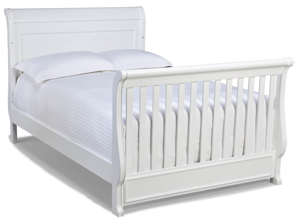Pictured with Crib-to-Full Bed Conversion Kit