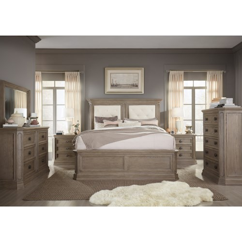 Legacy Classic Manor House California King Bedroom Group
