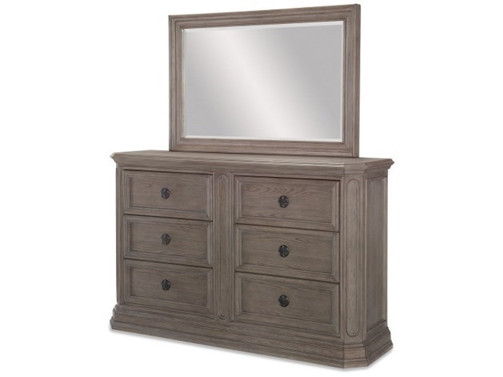 Legacy Classic Manor HouseDresser + Mirror Set
