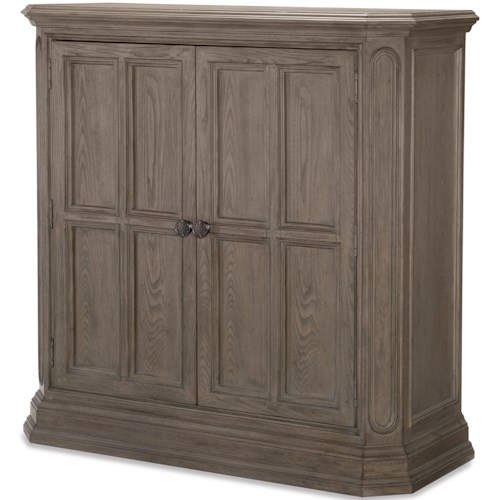 Legacy Classic Manor House Relaxed Vintage Door Chest with Hidden Drawers