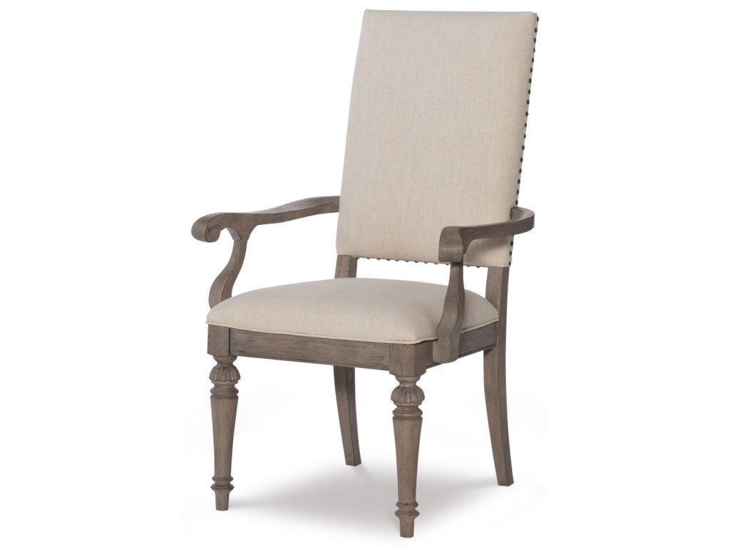 Legacy Classic Manor HouseUpholstered Back Arm Chair