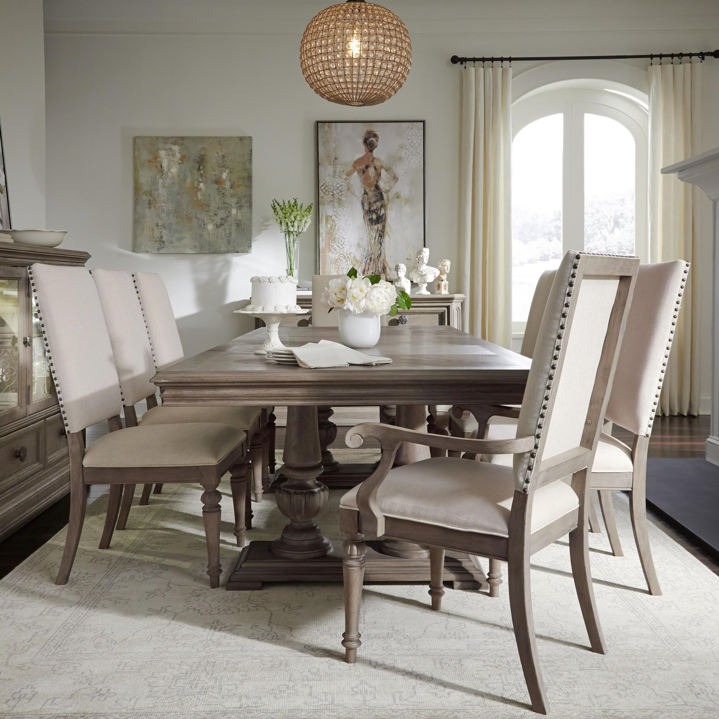 Legacy Classic Manor House9 Pc Dining Set ...