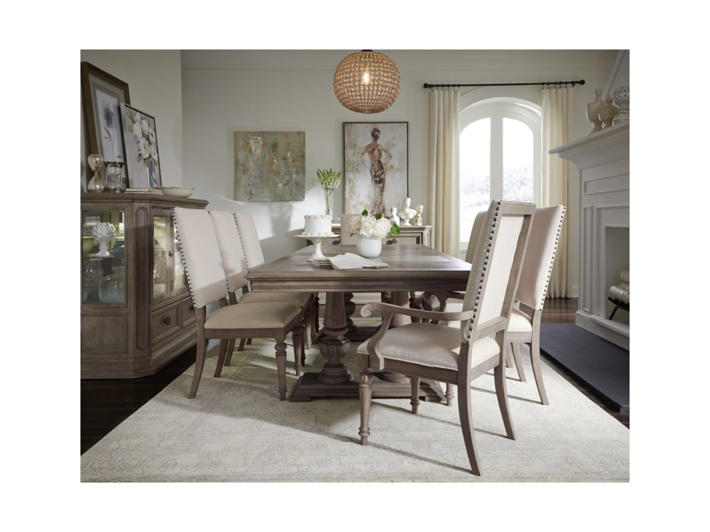 Legacy Classic Manor House9 Pc Dining Set