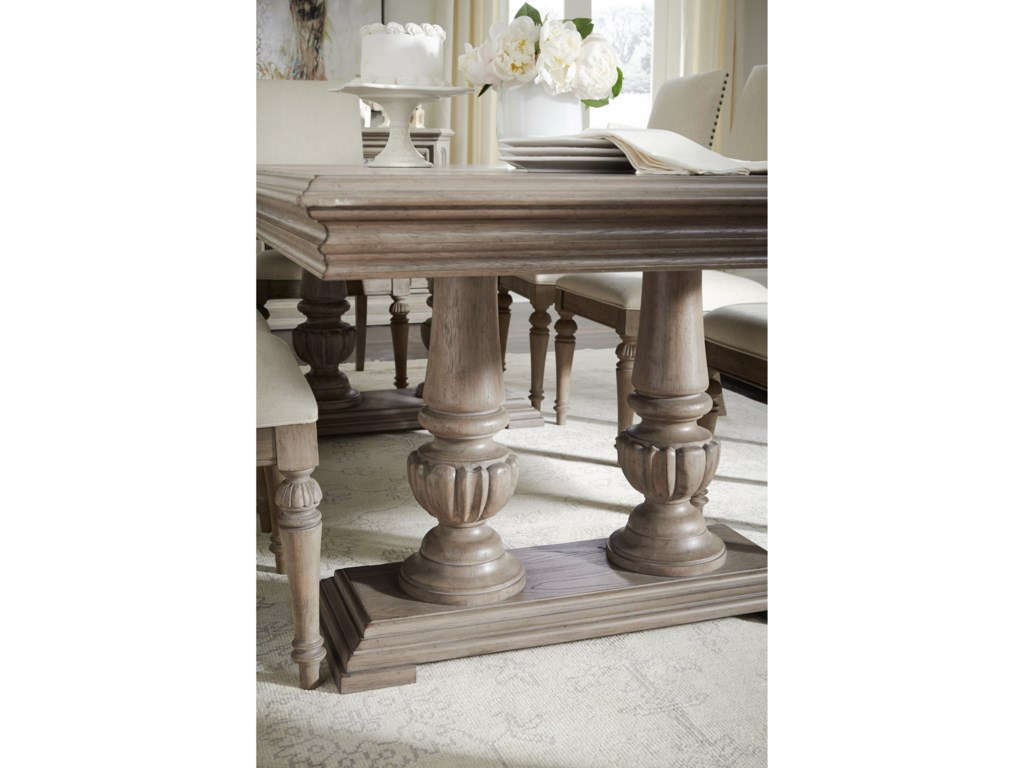 Legacy Classic Manor HouseDouble Pedestal Table