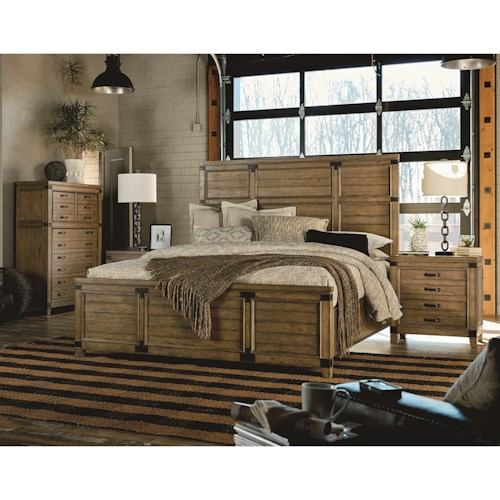 Legacy Classic Metalworks California King Bedroom Group