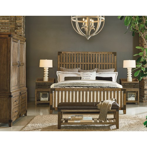 Legacy Classic Metalworks King Bedroom Group