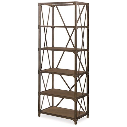 Legacy Classic Metalworks Etagere with 5 Shelves