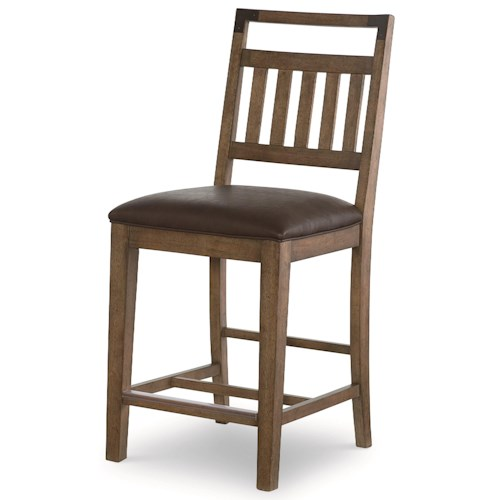 Legacy Classic Metalworks Pub Chair  with Upholstered Seat