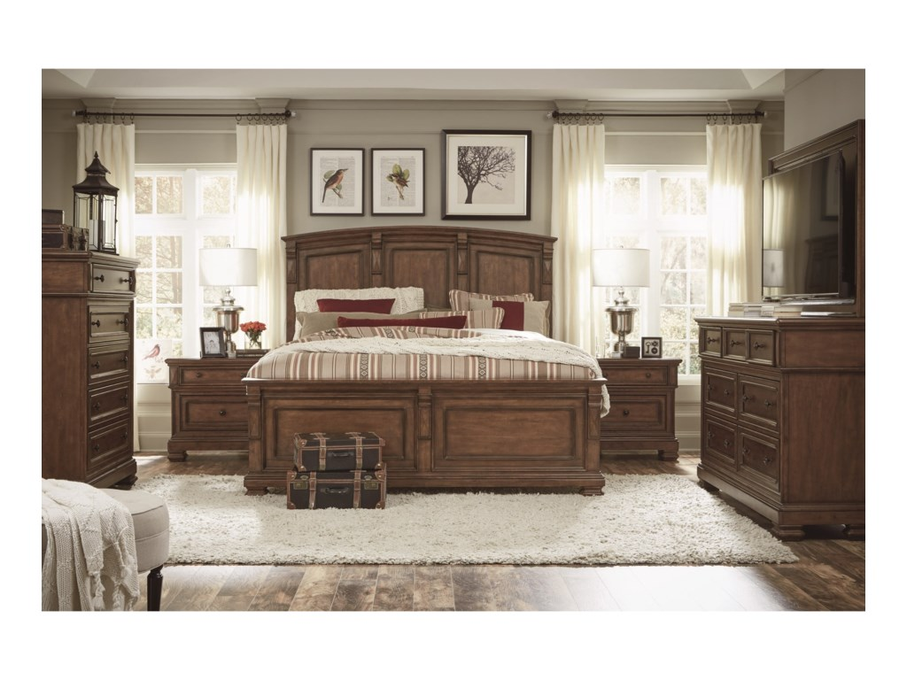 Legacy Classic Oxford PlaceDresser and TV Frame Combination