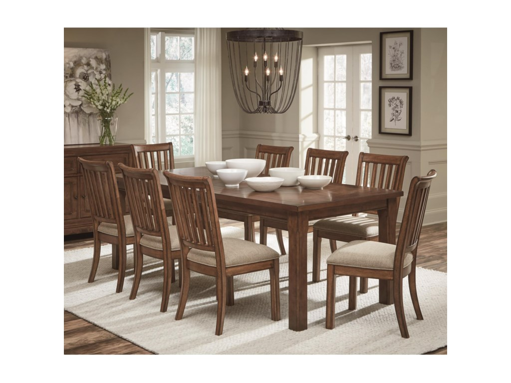 Legacy Classic Oxford Place9-Piece Table and Chair Set