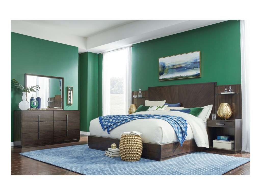 Legacy Classic PaldaoQueen Bedroom Group