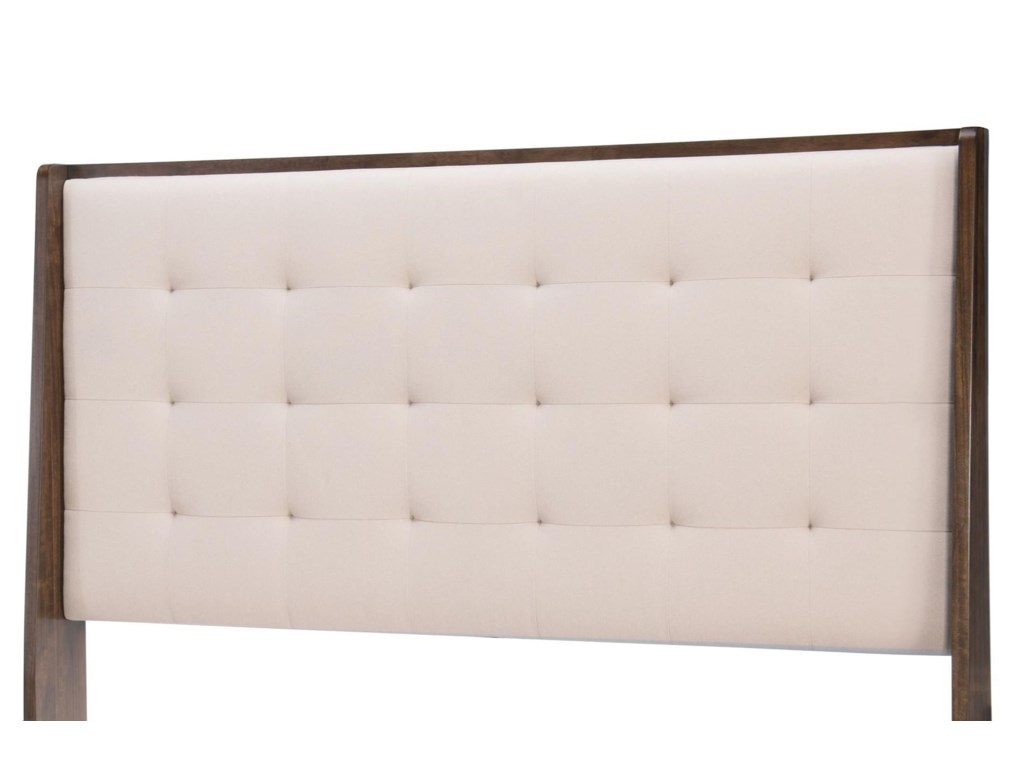 Legacy Classic PaldaoQueen Upholstered Shelter Headboard