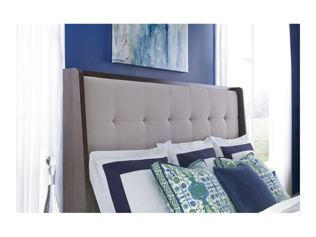Legacy Classic PaldaoKing/CA King Upholstered Shelter Headboard