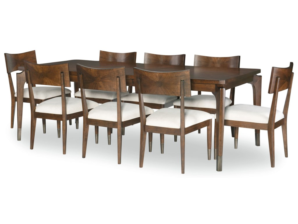 Legacy Classic Savoy9-Piece Table and Chair Set