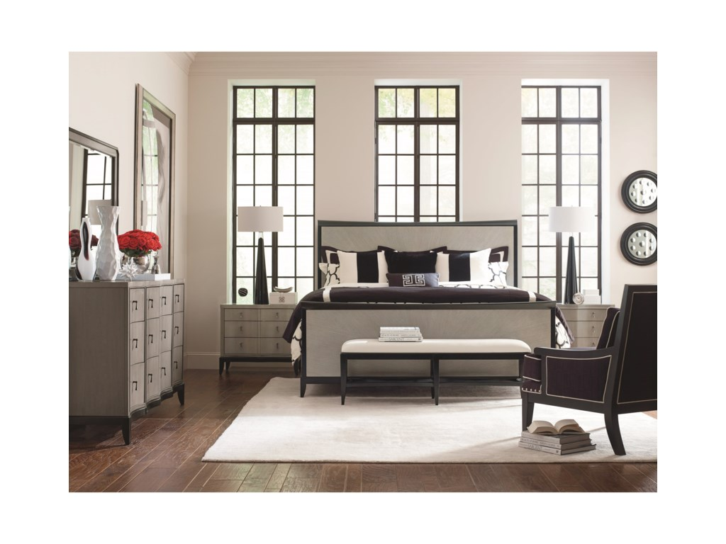 Legacy Classic SymphonyKing Bedroom Group