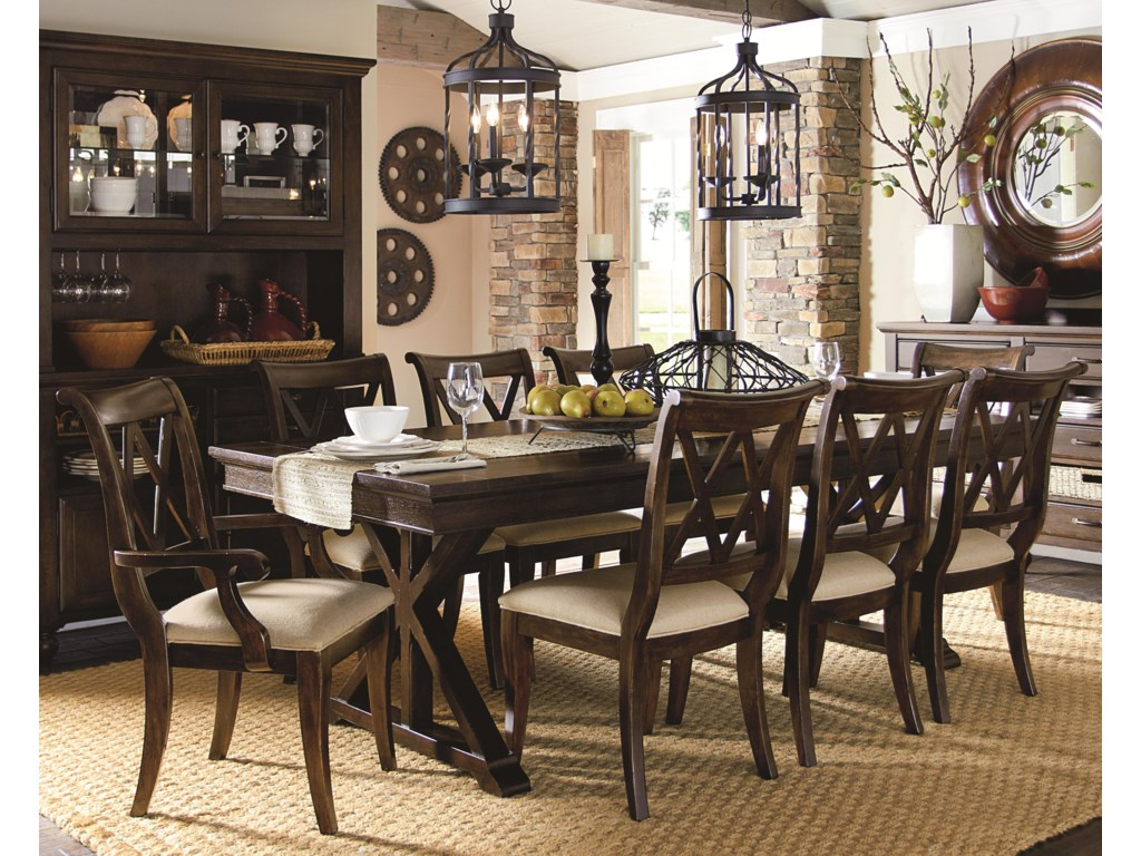 Legacy Classic Thatcher9 Piece Dining Set
