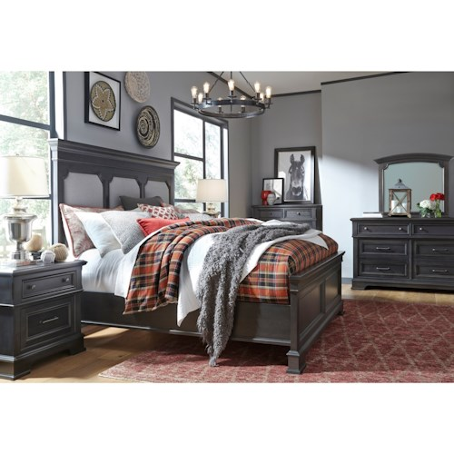 Legacy Classic Townsend Queen Bedroom Group