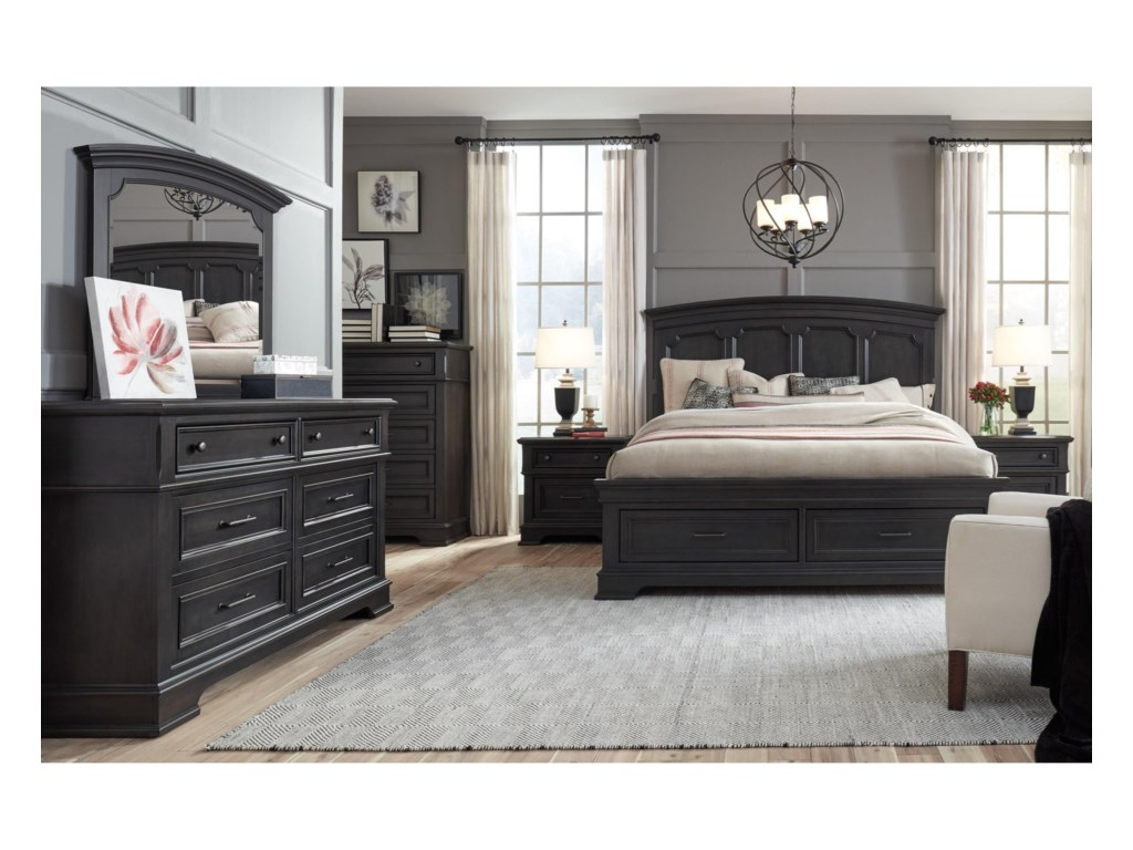 Legacy Classic TownsendQueen Storage Bed