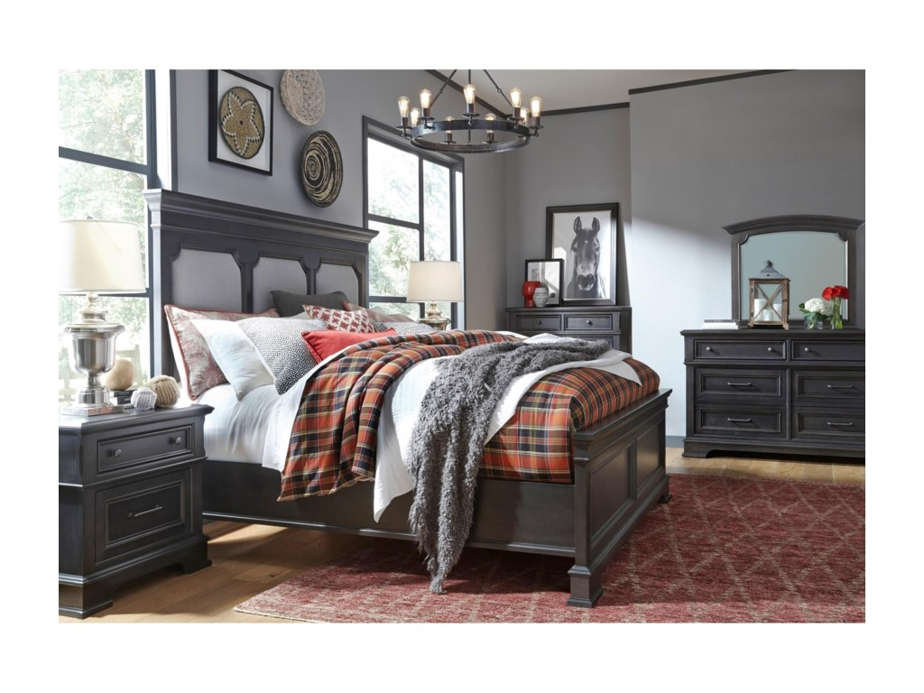 Legacy Classic TownsendQueen Upholstered Bed