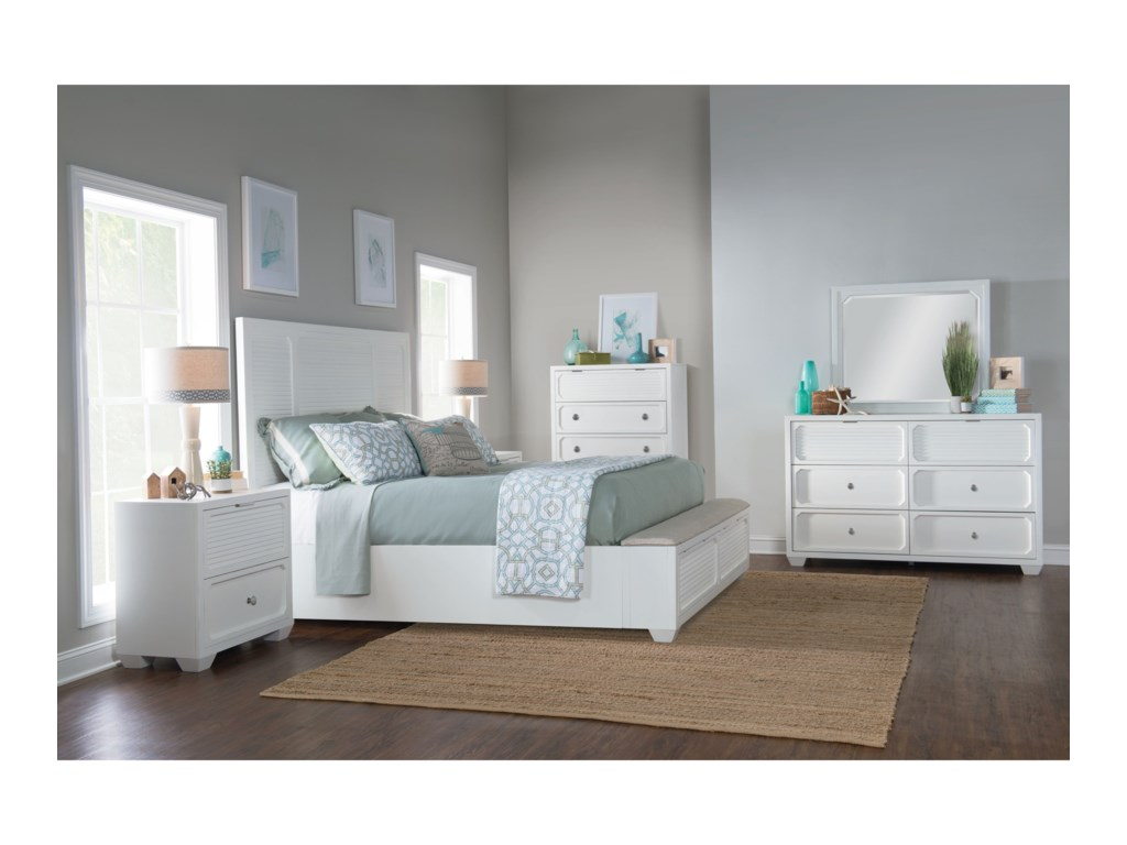 Legacy Classic Willow CreekQueen Bedroom Group
