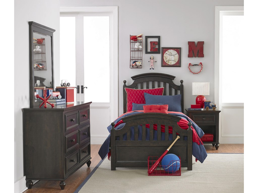 Legacy Classic Kids AbramsFull Panel Bed