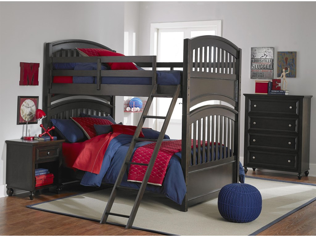 Legacy Classic Kids AcademyTwin over Twin Bunk Bed