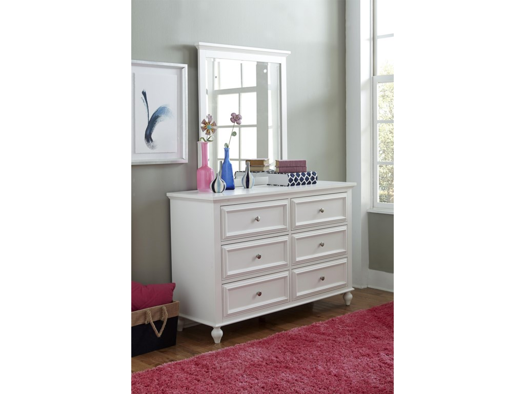 Legacy Classic Kids AcademyDresser and Mirror Set