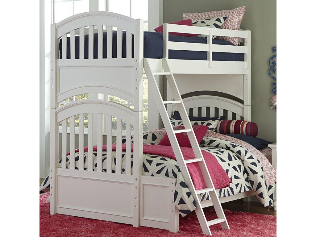 Legacy Classic Kids AcademyTwin over Full Bunk Bed
