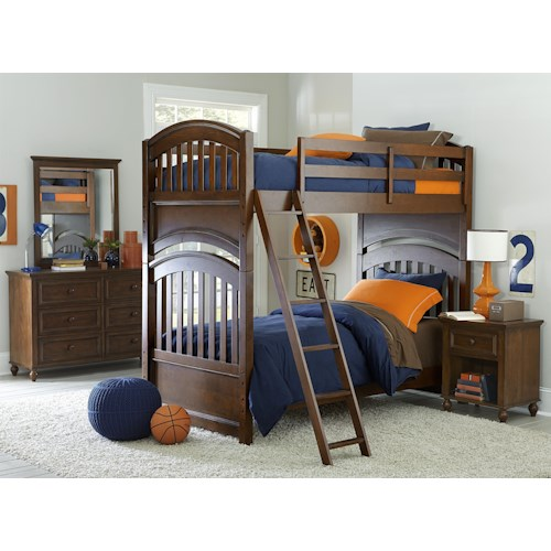 Legacy Classic Kids Academy Full Bedroom Group
