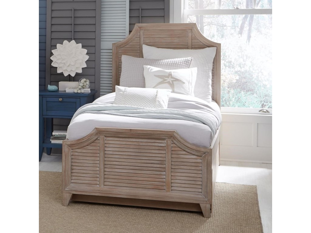 Legacy Classic Kids Beach HouseTwin Shutter Bed