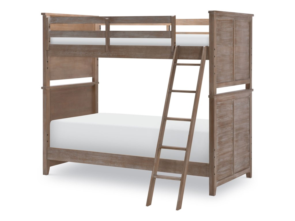 Legacy Classic Kids Beach HouseComplete Twin over Twin Bunk
