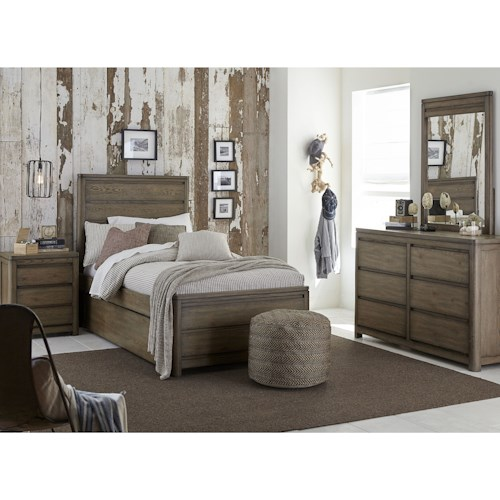 Legacy Classic Kids Big Sky by Wendy Bellissimo Twin Bedroom Group