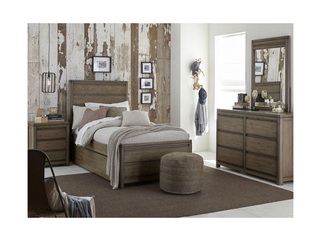 Legacy Classic Kids Big Sky by Wendy BellissimoTwin Panel Bed
