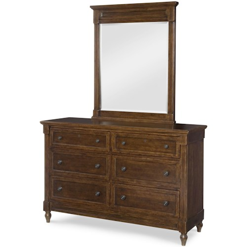 Legacy Classic Kids Big Sur by Wendy Bellissimo Dresser and Vertical Mirror