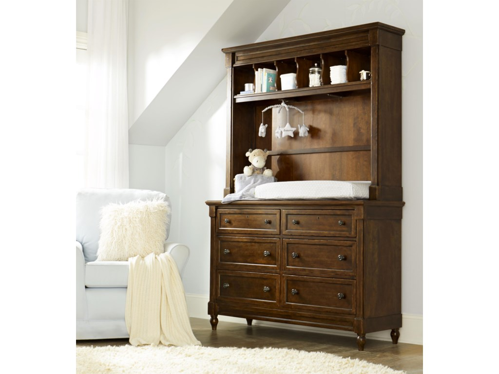 Legacy Classic Kids Big Sur by Wendy BellissimoDresser with Changing Hutch