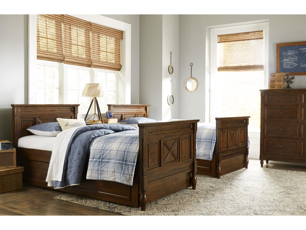 Legacy Classic Kids Big Sur by Wendy BellissimoFull Panel Bed