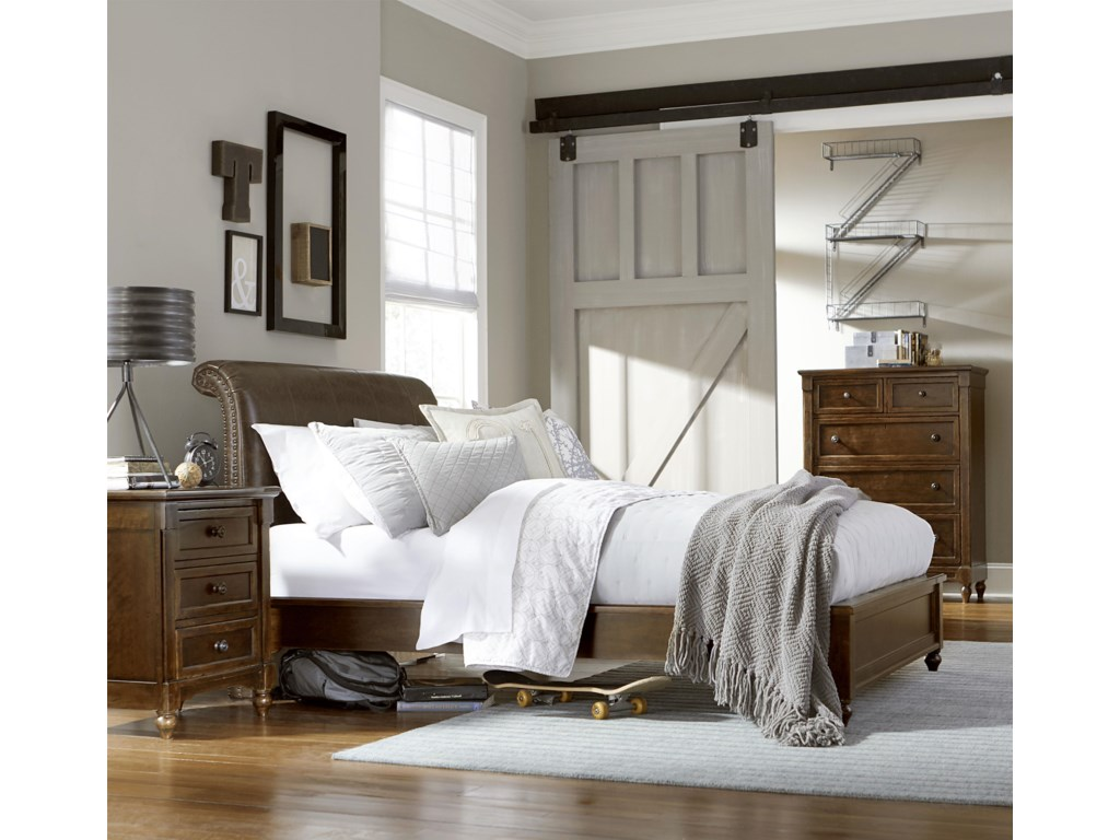 Legacy Classic Kids Big Sur by Wendy BellissimoTwin Upholstered Bed