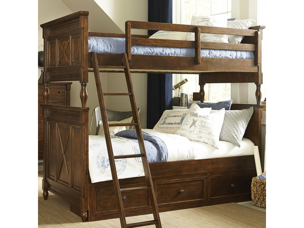 Legacy Classic Kids Big Sur by Wendy Bellissimo Twin over Twin Bunk ...