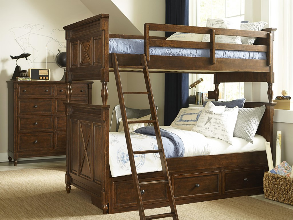 Legacy Classic Kids Big Sur by Wendy Bellissimo Twin over Twin Bunk Bed