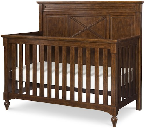 Legacy Classic Kids Big Sur by Wendy Bellissimo Grow with Me Crib with Convertible Bed Rails