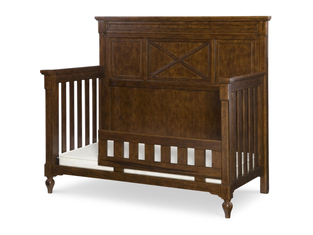 Purchase Guard Rail (Sold Separately) to Transform Crib into a Toddler Bed