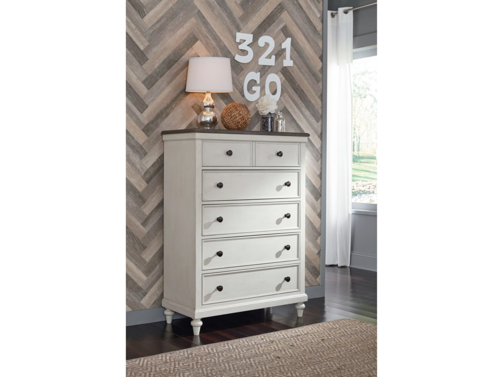 Legacy Classic Kids Brookhaven Youth5-Drawer Chest of Drawers