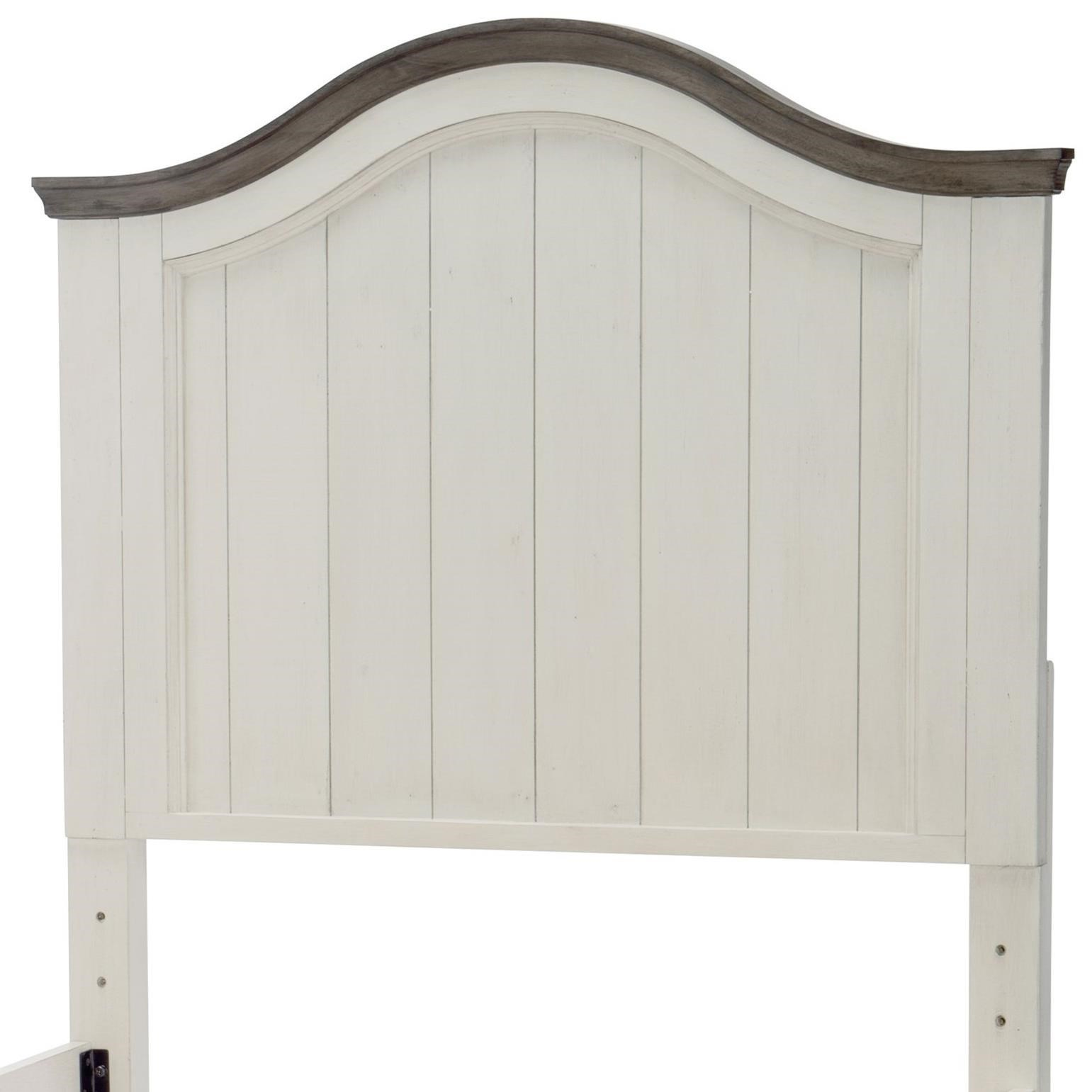 Relaxed Vintage Twin Panel Headboard